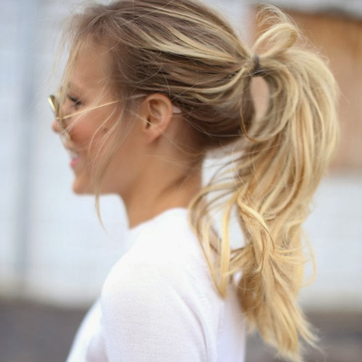 easy-hairstyles-for-long-hair-messy-ponytail