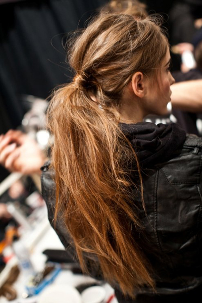 long-hair-messy-ponytail
